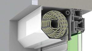 rulouri exterioare, aluminiu, caseta rulouri,sistem opoterm